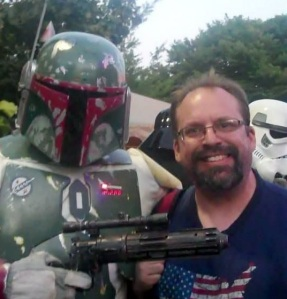 After he escaped from the belly of the sar'lac, Boba Fett flew to PDX and we use to hang out at the zoo.