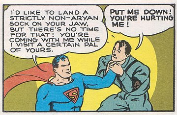 Supes and hitler