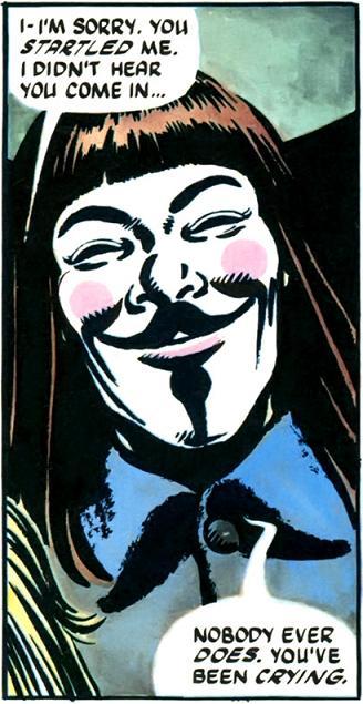 V for Vendetta  Comicde