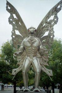 moth man sttue