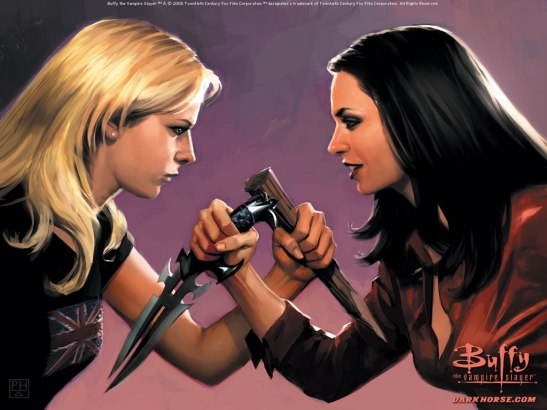 buffy v faith