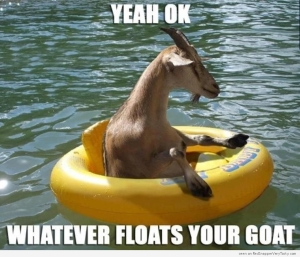 float goat