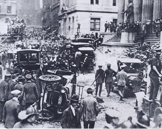 wall street bombing