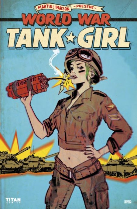 Female comic book characters i think are awesome part ii daves world war 2 tank girl publicscrutiny Choice Image